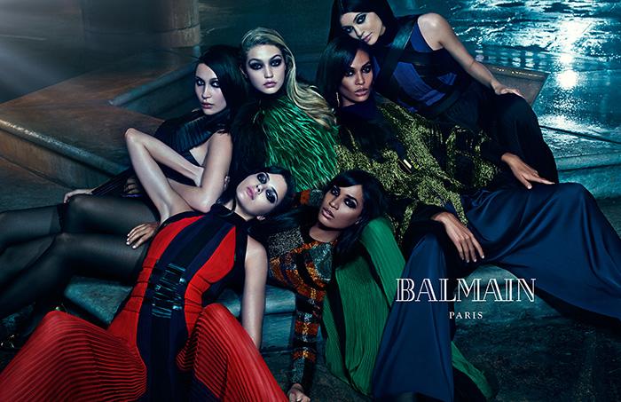 Balmain-FW15-womenswear-campaign